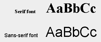 basic rules of font use